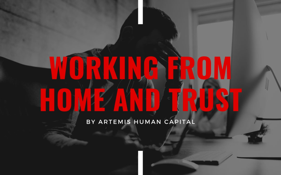 Working from Home and Trust
